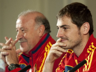 Del Bosque: Casillas has my support