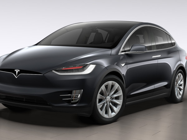 This Tesla Model X Is A Parking Lot Bully