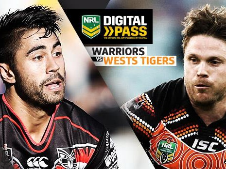 WATCH LIVE: Warriors v Wests Tigers