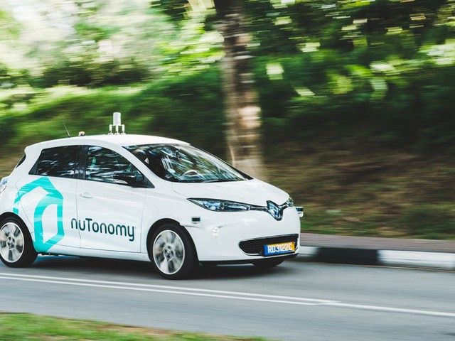 NuTonomy starts trials in Singapore of self-driving taxi service