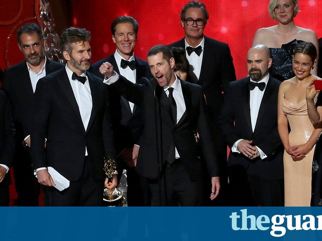 Game of Thrones breaks Emmy record and wins best drama for second year