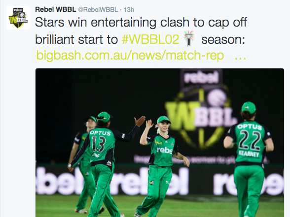 Women's Big Bash draws decent audience for Ten as Nine seals the week