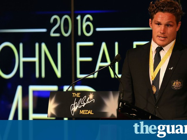 Wallabies star Michael Hooper scoops second prestigious Eales medal