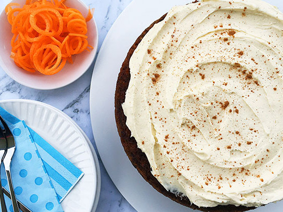 A perfect afternoon tea recipe for carrot cake