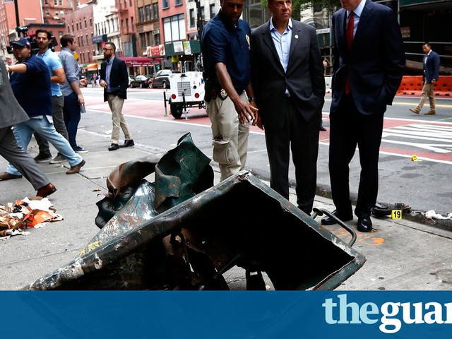 New York bombing: both devices used pressure cooker and phone – reports