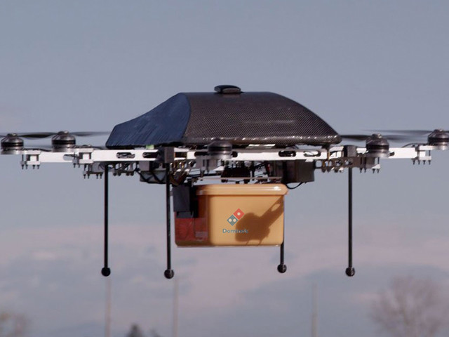 Domino's Pizza takes a flier on drone deliveries, looks to 2016 launch