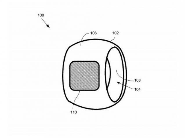 Apple registra patente de anel com tela touch