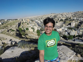 Cidadela de Amã e a melhor vista panorâmica da capital da Jordânia