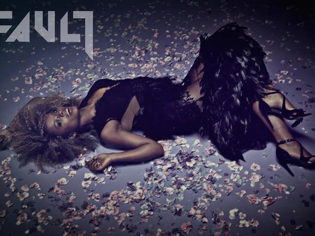 Fleur é a capa e o recheio da nova edição da FAULT Magazine