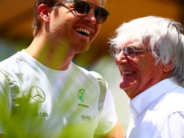 Formel-1-Boss - Lebensrettende Entscheidung? Ecclestone feiert Rosbergs Rücktritt