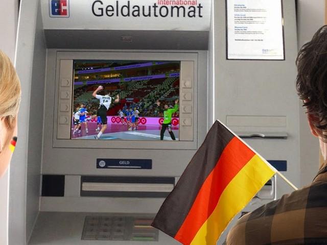 Übertragung gesichert: DKB zeigt Handball-WM live auf Geldautomaten