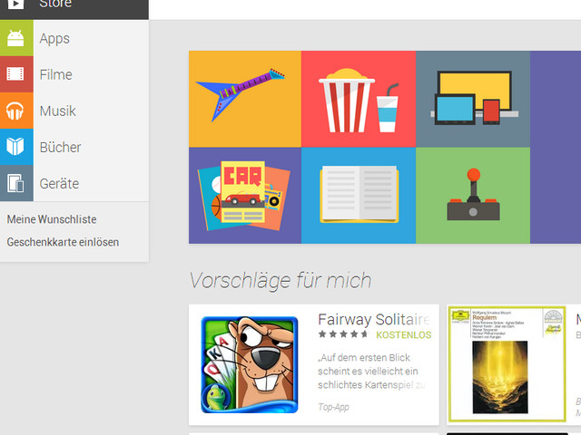 Google Play Store (Android Market) - Web Version - Web-App - CHIP