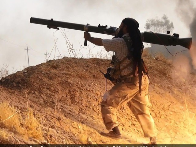 ISIS zerstört Abrams-Panzer im Kampf um Mosul