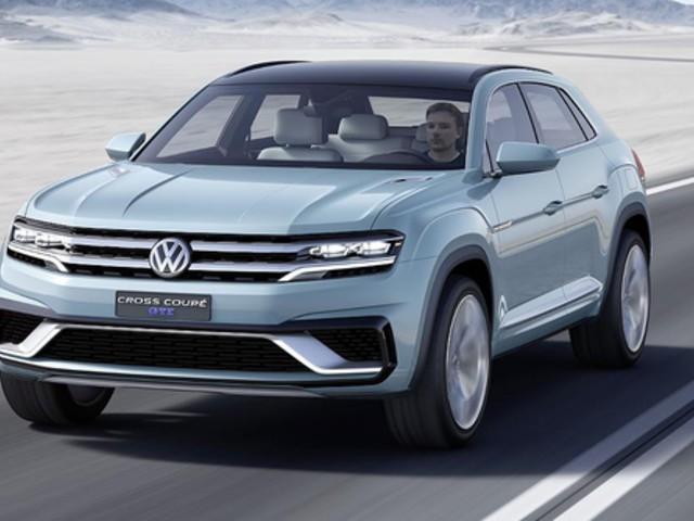 Detroit 2015: VW Cross Coupe GTE - Ausblick auf den Tiguan: Reißt dieses 360 PS-SUV das Steuer für VW herum?