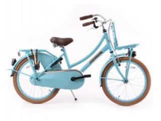 Hollandfahrrad Hollandrad Fahrrad Daily Dutch Blau 20 Zoll in Goch