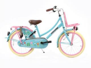 Hollandfahrrad Hollandrad Fahrrad Daily Dutch Blau  Rosa 20 Zoll in Goch