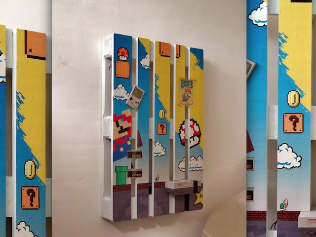 Awesome Super Mario Themed Pallet by DIY Enthusiast Kone Mei