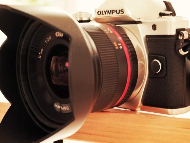 Die Olympus OM-D E-M10 Mark II mit Samyang   Mein neues Fotoequipment