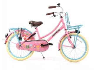 Hollandfahrrad Hollandrad Fahrrad Daily Dutch Rosa Blau 20 Zoll NEU! in Goch