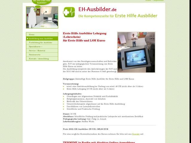 Ausbilderlehrschein - Kurse zum Erste Hilfe Ausbilder in Berlin bei napaso