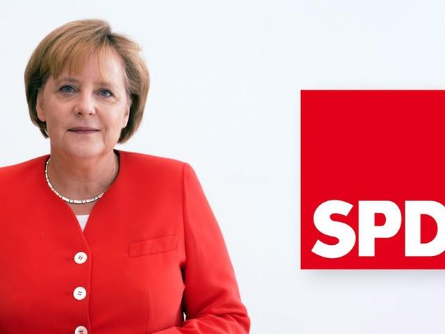 Cleverer Schachzug: SPD schickt ebenfalls Angela Merkel als Kandidatin ins Rennen
