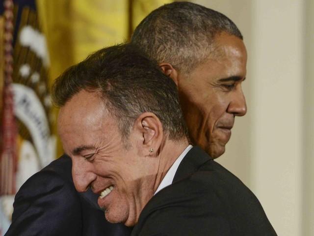 Für Team Obama: Bruce Springsteen spielt Geheimkonzert im Weißen Haus