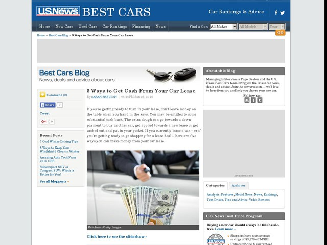 5 Ways To Get Cash From Your Car Lease Motor Anygator Com