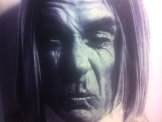 La extraa cara de Iggy Pop en Madrid