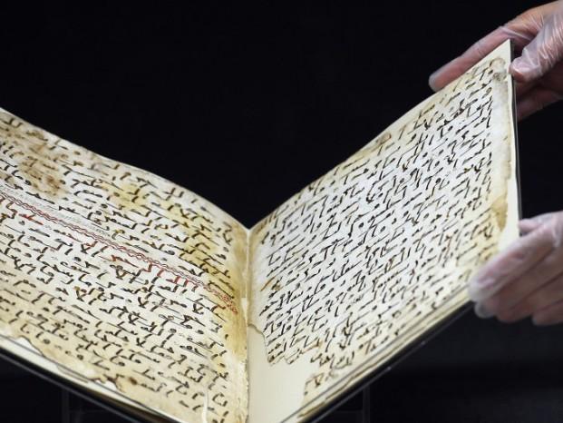 2 feuillets d'un Coran des origines retrouvés en Grande-Bretagne