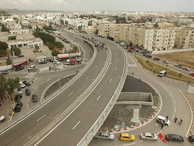 Inauguration de l'échangeur de la cité El Khadra