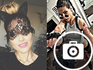 Laury Thilleman en Lara Croft, Caroline Receveur version Catwoman : le diaporama Instagram