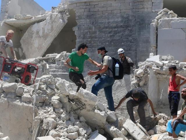 Syrie: quatre hôpitaux bombardés à Alep