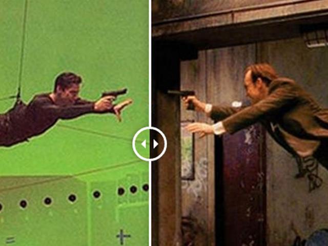 Top 58 des films et séries TV avec / sans effets spéciaux, la magie du fond vert