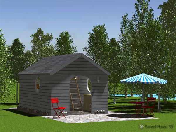 Aménager son igloo avec Sweet Home 3D