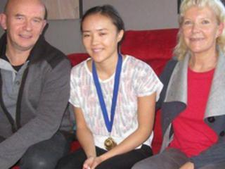 Chloé, médaillée au concours des meilleurs apprentis de France