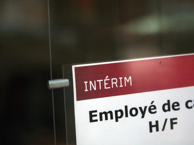 INFO E1 - Chômage : l'emploi intérim chute en décembre