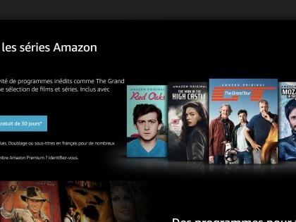 """Amazon lance """"Prime Video"""" en France et déclare la guerre à Netflix"""