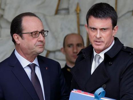 Baromètre Odoxa: pour Hollande et Valls, ça ne va vraiment pas mieux