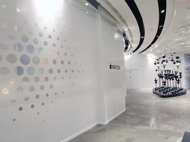 L'Apple Watch a désormais ses propres boutiques aux Galeries Lafayettes