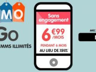 Promo forfait : 3go de data + illimité sans engagement à 6,99 euros chez NRJ mobile