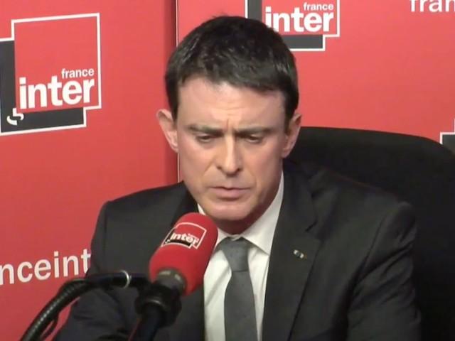 """Un internaute à Manuel Valls en direct sur France Inter: """"On était 66 millions à vouloir te la mettre la claque"""""""