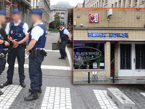 Trois policiers, ivres dans un bar de Bruxelles en plein service, se sont fait pincer par des collègues