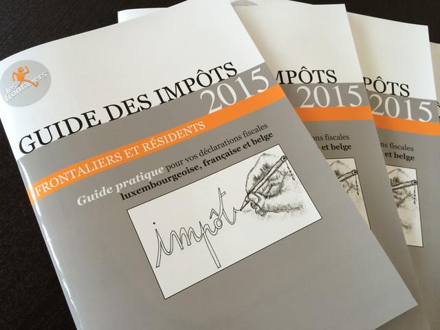 Le nouveau Guide des impôts 2015 pour frontaliers et résidents vient de sortir