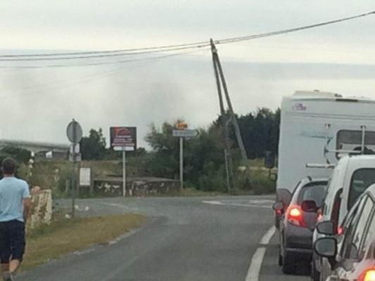 Charente-Maritime : les éleveurs bloquent le pont d'Oléron au moins jusqu'à jeudi soir
