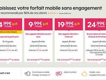 Sosh : promotions, offres Mobile + Livebox et conseils