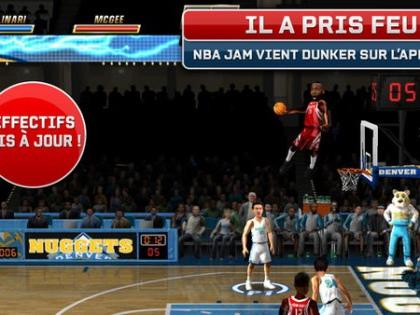 Télécharger gratuitement le jeu NBA JAM sur iPhone et iPad