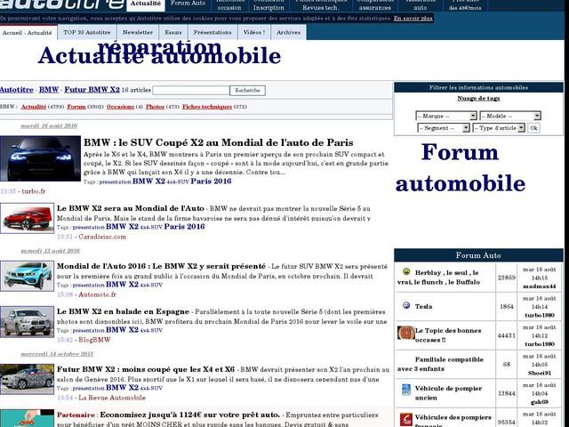BMW : le SUV Coupé X2 au Mondial de l'auto de Paris