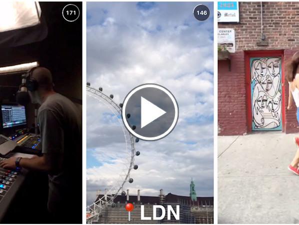 Apple Music dévoile un mini film sur Snapchat