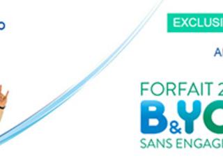 Bouygues Telecom : un Forfait B&YOU 24/24 supplémentaire à 1 euro par mois