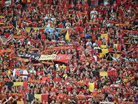 Euro 2016 : les Belges iront à pied de Lille au stade Mauroy, bouchons à prévoir vendredi